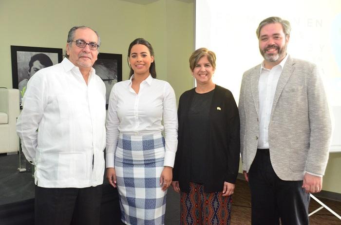 PRINCIPAL Miguel Escala, Estefanía George, Mariella Cantisano y Pablo Viñas