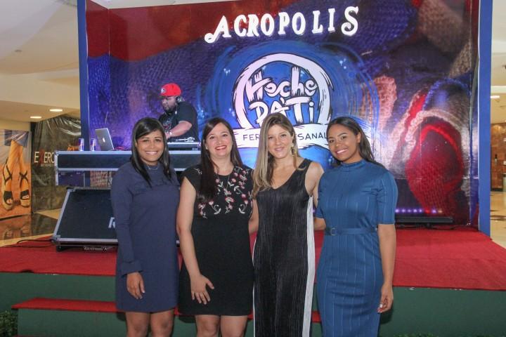 A. PRINCIPAL. Carolina Fernandez, Mariel Mendez, Patricia Ramella, Daniela Baez.