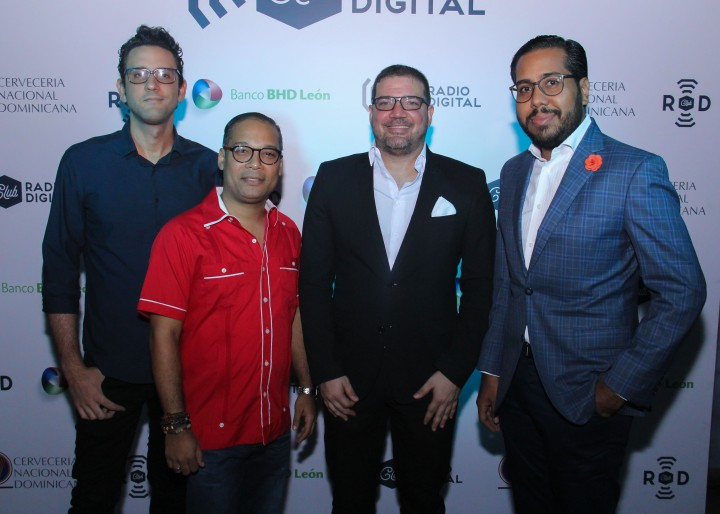 Principal - Christian Feliz, Amable Chahín, Armando Soldevila y Ricardo Rodríguez
