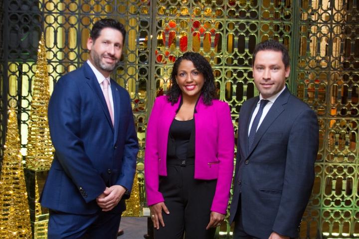 FOTO PRINCIPAL.- 2 Alejandro larrondo, Katherine Sánchez y Xavier Pineda Madrid.jpg