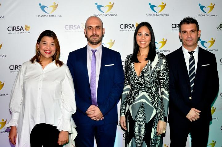 PRINCIPAL - Wendelyn Issa, Francisco Ibars, Sabrina Peynado y Daniel Castilla